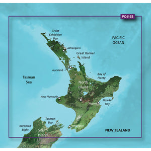 Garmin Bluechart G2 Vision Hd - Vpc416S - New Zealand North - Microsd-Sd [010-C0874-00] - Cartography