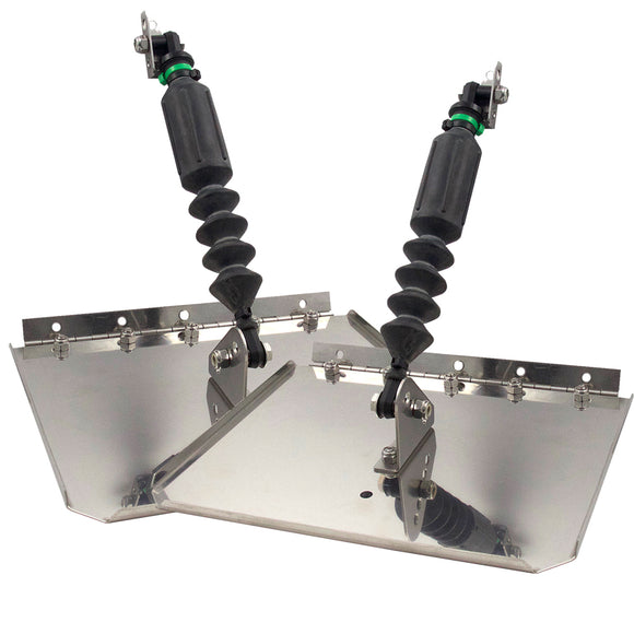 Nauticus St1290-60 Smart Tab Trim Tabs 12 X 9 F- 12-18 Boats W-60-150 Hp [St1290-60] - Boat Outfitting