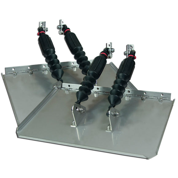 Nauticus St1610-160 Smart Tabs Ii Series Trim Tabs 16 X 10 F-23-30 Boats - 8500Lbs Max [St1610-160] - Boat Outfitting