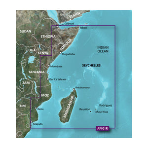 Garmin Bluechart G2 Hd - Hxaf001R - Eastern Africa - Microsd-Sd [010-C0747-20] - Cartography