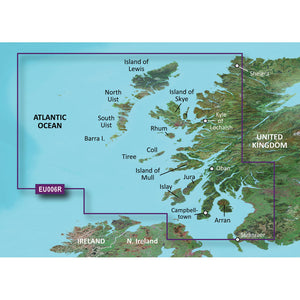 Garmin Bluechart G2 Hd - Hxeu006R - Scotland West Coast - Microsd-Sd [010-C0765-20] - Cartography