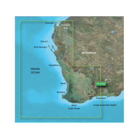Garmin Bluechart G2 Hd - Hxpc410S - Esperance To Exmouth Bay - Microsd-Sd [010-C0868-20] - Cartography