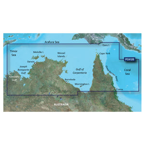 Garmin Bluechart G2 Hd - Hxpc412S - Admiralty Gulf Wa To Cairns - Microsd-Sd [010-C0870-20] - Cartography