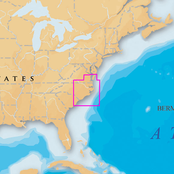 Navionics Platinum+ - North Carolina - Microsd-Sd [Msd-645P+] - Cartography