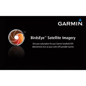 Garmin Birdseye Satellite Imagery Retail Card [010-11543-00] - Cartography