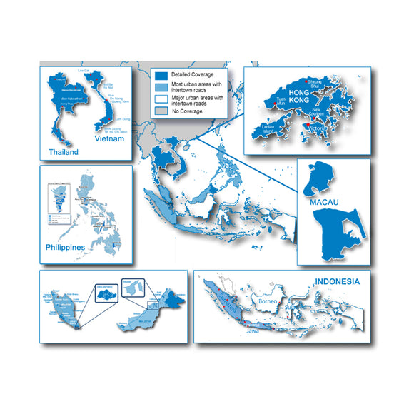 Garmin City Navigator - Southeast Asia Nt - Microsd-Sd [010-11652-00] - Cartography