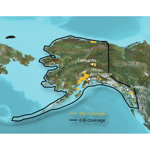 Garmin Topo - Alaska Enhanced - Microsd-Sd [010-C1057-00] - Cartography