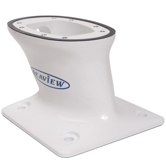 Seaview 5 Modular Mount Aft Raked 7 X 7 Base Plate - Top Plate Required [Pma-57-M1] - Boat Outfitting