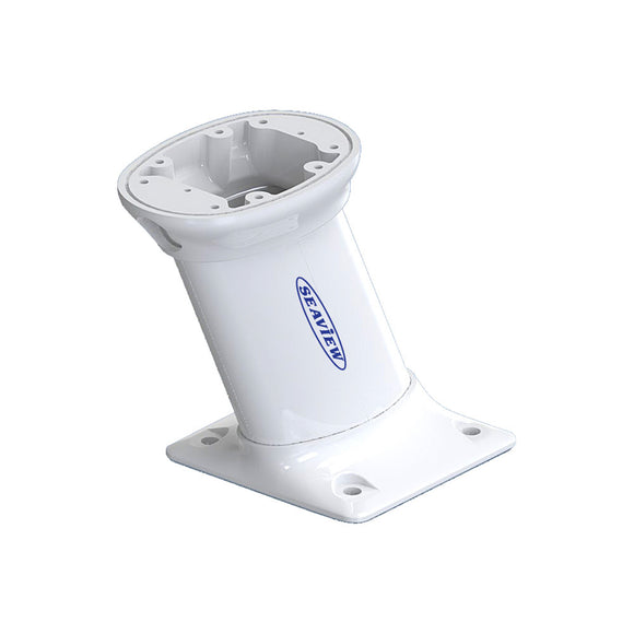Seaview 10 Modular Mount Aft Raked 7 X 7 Base Plate - Top Plate Required [Pma-107-M1] - Boat Outfitting