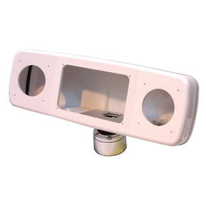 Scanpod Deck Pod Uncut For 7 Or 8 Display & 2 Or 4 Instruments [Spd-4Xi-W] - Boat Outfitting