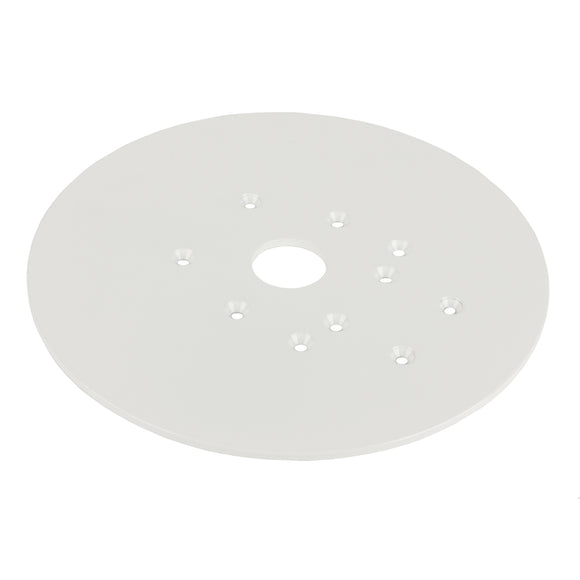 Edson Vision Series Universal Mounting Plate - 10-5-8 Diameter W-No Holes [68870] - Boat Outfitting