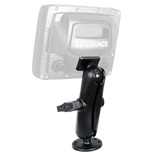 Lowrance Ram 1.5 Mark-Elite 5 Series Quick Release Mount [000-10910-001] - Boat Outfitting