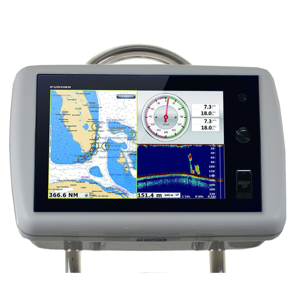 Navpod Gp1036 Sailpod Pre-Cut F-Furuno Navnet Tztouch 14.1 Multi Touch F-9.5 Wide Guard [Gp1036] - Boat Outfitting