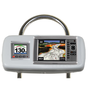 Navpod Gp2048 Systempod Pre-Cut F-Garmin 820-820Xs-840Xs & 1 Instrument F-12 Wide Guard [Gp2048] - Boat Outfitting