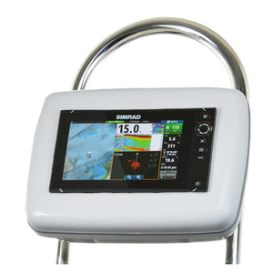 Navpod Gp2050-13 Sailpod Pre-Cut F-Simrad Nss9 Evo2 Or B&g Zeus 9 F-12 Wide Guard [Gp2050-13] - Boat Outfitting