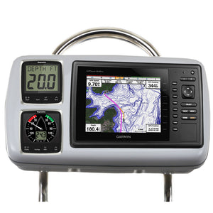 Navpod Gp2088 Systempod Pre-Cut F-Garmin 820-820Xs-840Xs & 2 Instruments F-12 Wide Guard [Gp2088] - Boat Outfitting