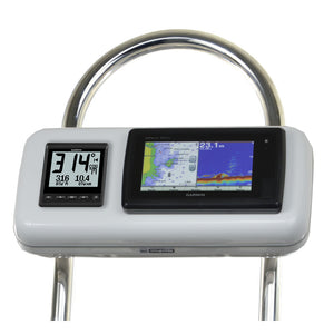 Navpod Gp2511 Systempod Pre-Cut F-Garmin 7Xx And 7X Series & 1 Instrument F-12 Wide Guard [Gp2511] - Boat Outfitting