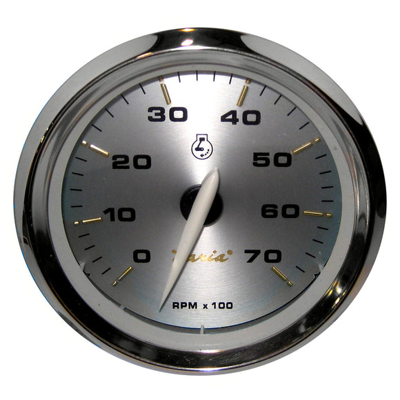Faria Kronos 4 Tachometer - 7 000 Rpm (Gas - All Outboards) [39005] - Boat Outfitting