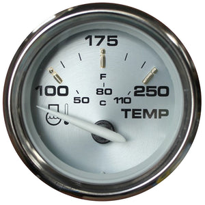 Faria Kronos 2 Water Temperature Gauge (100-250 Degreef) [19003] - Boat Outfitting