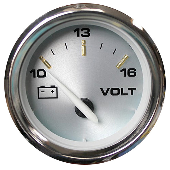 Faria Kronos 2 Voltmeter (10-16 Vdc) [19004] - Boat Outfitting