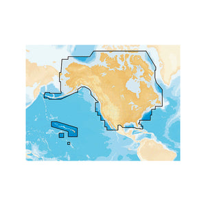 Navionics+ Preloaded Chart Of All Usa-Canada -Marine & Lakes- Microsd [Msd-Navplusni] - Cartography