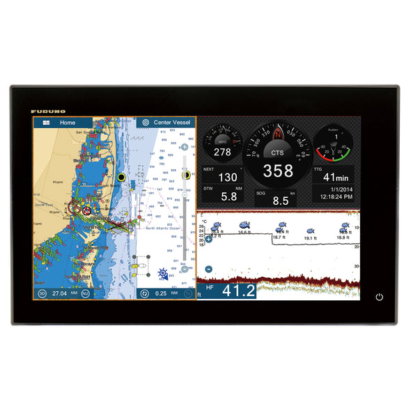 Furuno Navnet Tztouch2 12.1 Mfd Chart Plotter-Fish Finder [Tztl12F] - Marine Navigation & Equipment