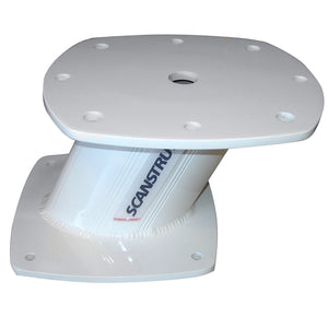 Scanstrut 6 Aluminum Powertower F-Open Array Raymarine (4) Furuno (2) Navico Halo (3 4 6) [Apt6003] - Boat Outfitting