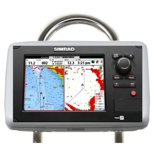 Navpod Gp1807 Sailpod Pre-Cut F-Simrad Nss7B&g Zeus T7 F-9.5 Wide Guard [Gp1807] - Boat Outfitting