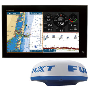 Furuno 15 Navnet Tztouch2 Doppler Radar Bundle [Tztl15F-Nxt] - Marine Navigation & Equipment