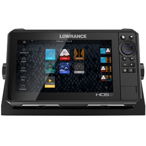 Lowrance Hds-9 Live No Transducer W-C-Map Pro Chart [000-14421-001] - Marine Navigation & Equipment
