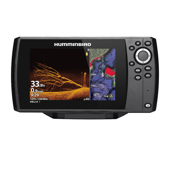 Humminbird Helix 7 Chirp Mega Di Fishfinder-Gps Combo G3N - Display Only [411070-1Cho] - Marine Navigation & Equipment