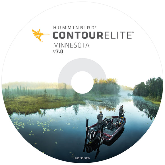Humminbird Contour Elite Minnesota - Version 7 [600022-5]
