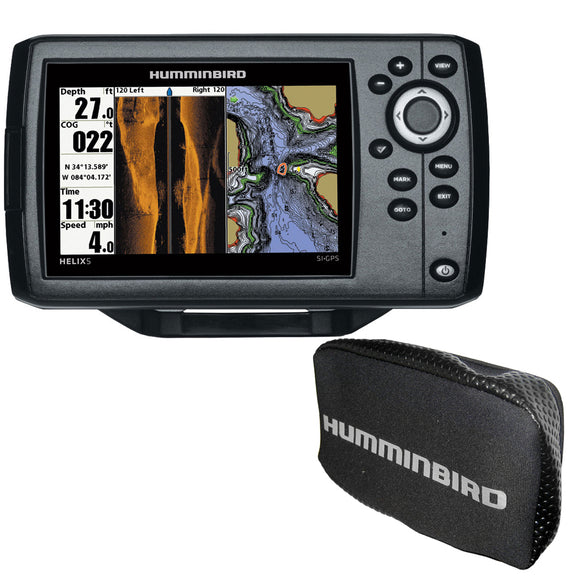 Humminbird HELIX CHIRP SI GPS G2 Combo w/Free Cover [410230-1COVER]