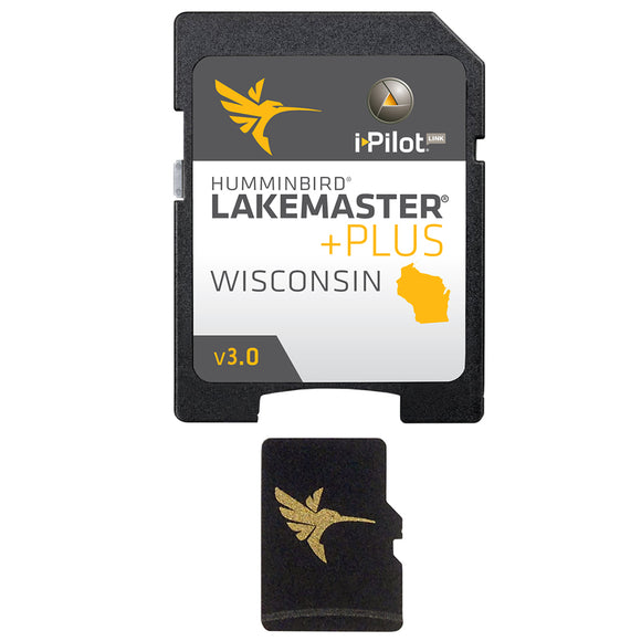 Humminbird LakeMaster PLUS - Wisconsin - Version 3 [600025-8]