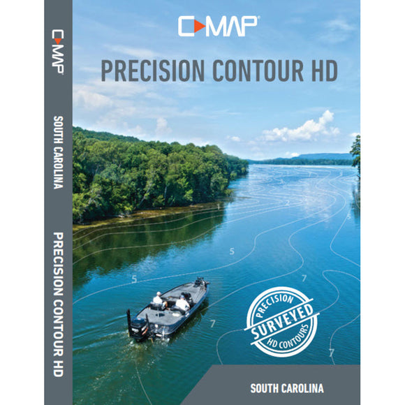 Lowrance C-MAP Precision Contour HD Chart - South Carolina [M-NA-Y803-MS]