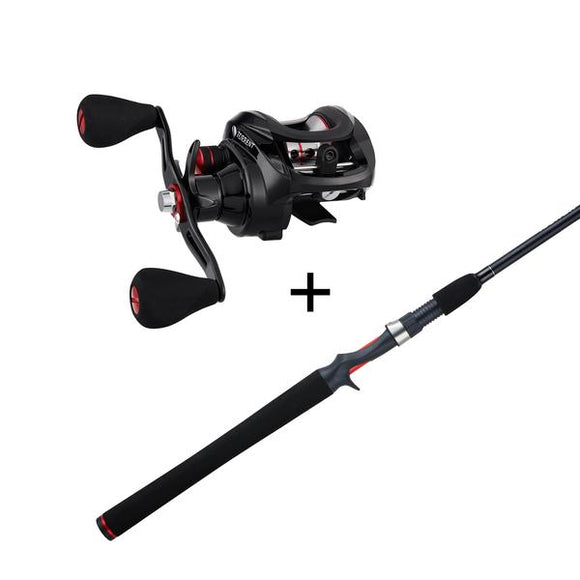 Piscifun® Torrent Casting Reel And Rod Combos - Fishing Reels
