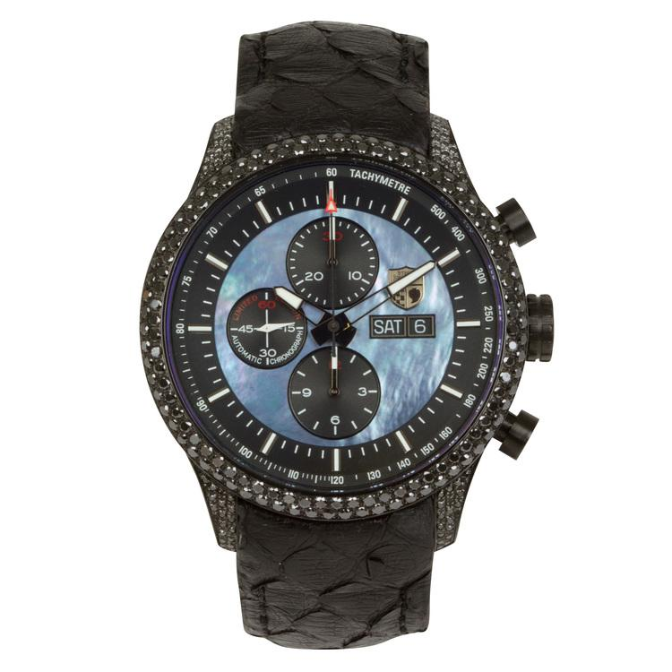 Mark VIIIG - 055 (Black Diamond Encrusted Case)