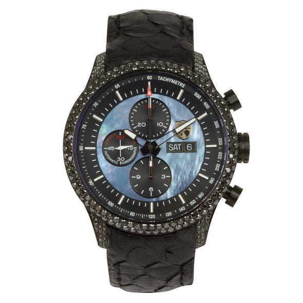 Mark VIIIG - 055 (Black Diamond Encrusted Case) Watch Stefan Johansson Vaxjo