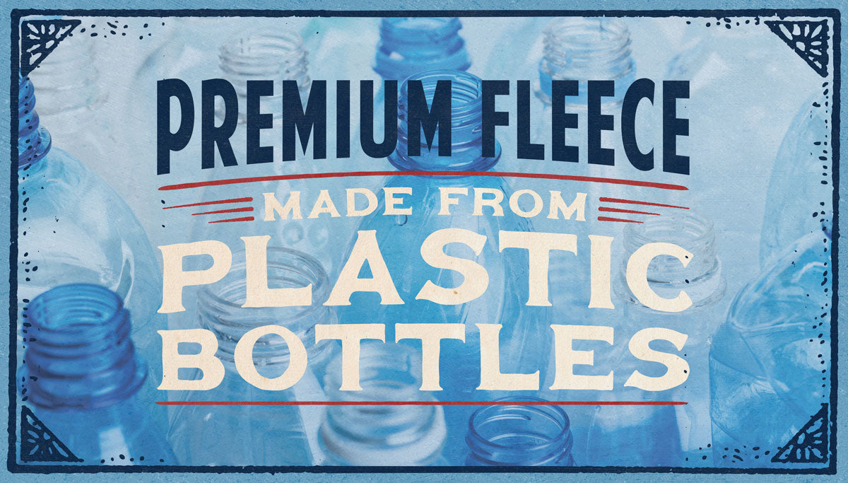 Premium Fleece from Plastic Bottles
