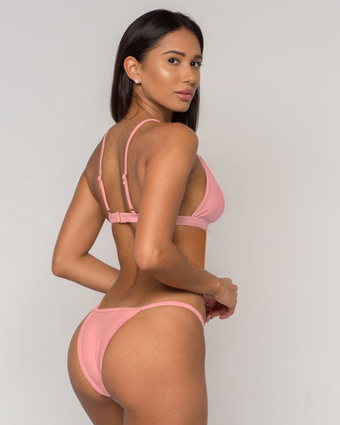 Pink Sexy Triangle Bikini - Sava Collection - xidornswim
