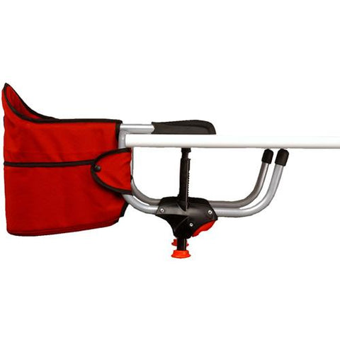 Caddy Hook-On High Chair - Red