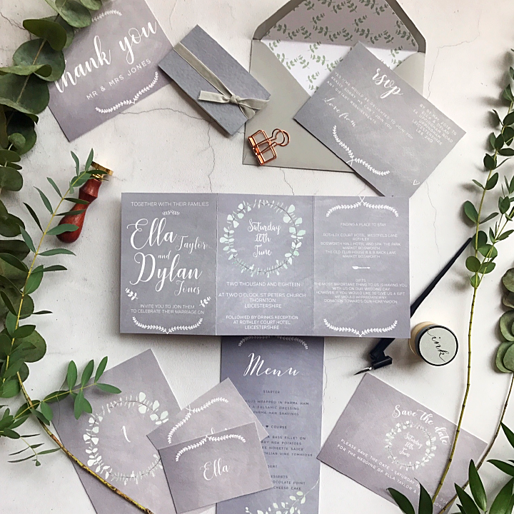 SOFT CHALK INVITATION - Sample
