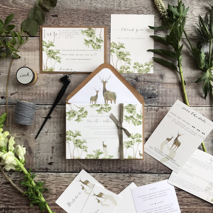 WOODLAND INVITATION