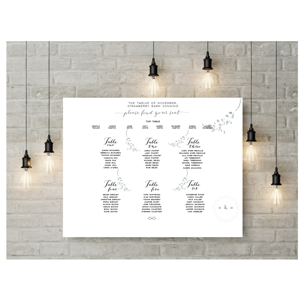 FIG TREE TABLE PLAN