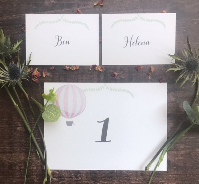 Our Story Place card