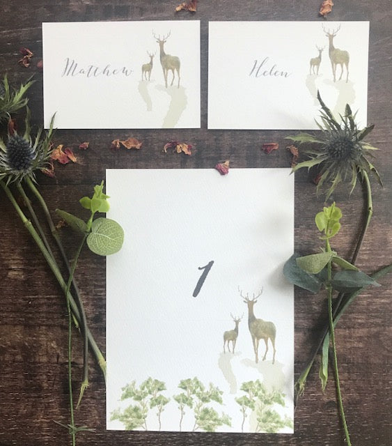 Woodland Place card