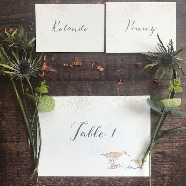 Coastal Water Place card
