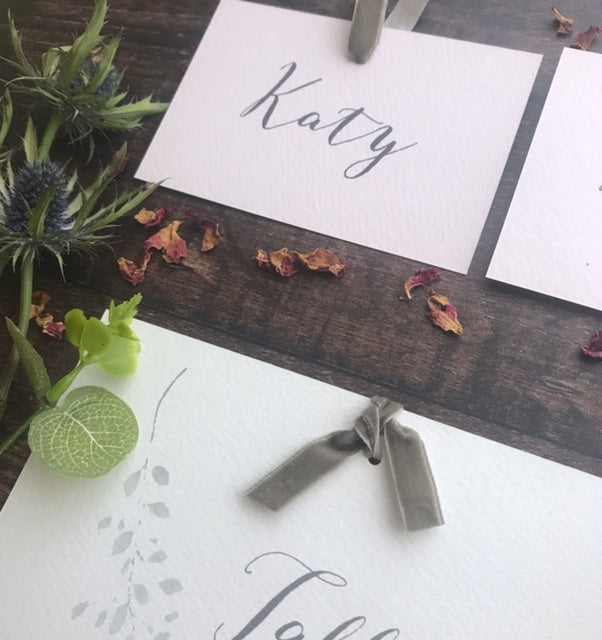 Fig Tree Place card