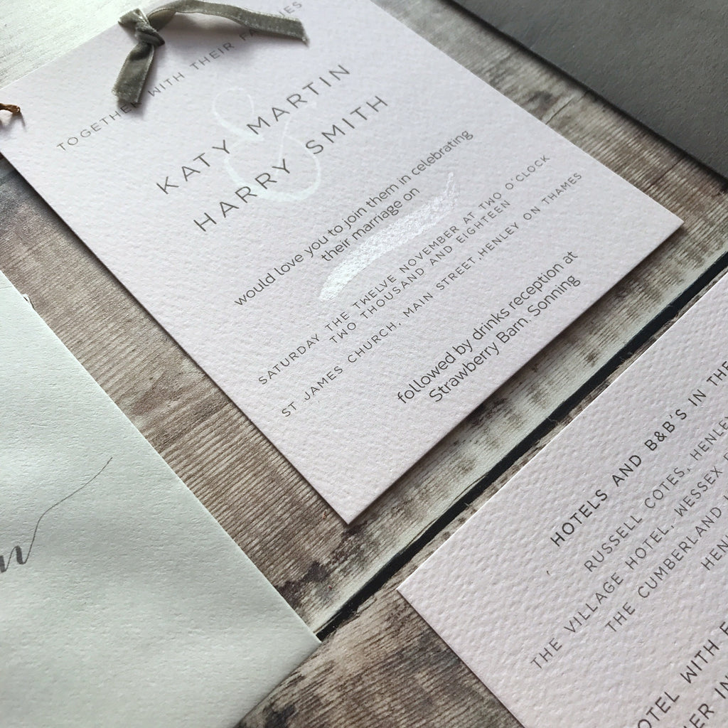 FIG TREE INVITATION - Sample