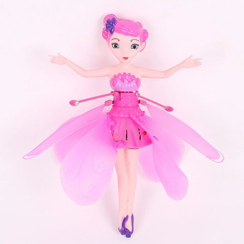 The Flying Pixie Magical Flying Fairy Princess Doll Flutterbye